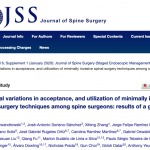 Regional variations in acceptance, and utilization of minimally invasive spinal surgery techniques among spine surgeons: results of a global survey