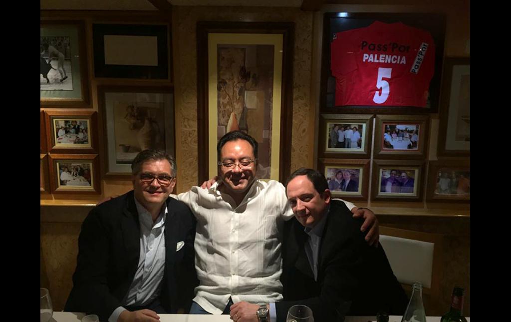 Roger Hartl (NY, USA), José Antonio Soriano (CDMX), José Ma Torres (Asturias, España)